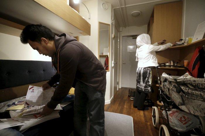 Σε «στρατόπεδο» στον Αρκτικό Κύκλο πήγε τους πρόσφυγες η Σουηδία - εικόνα 8