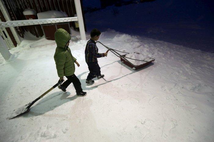 Σε «στρατόπεδο» στον Αρκτικό Κύκλο πήγε τους πρόσφυγες η Σουηδία - εικόνα 10