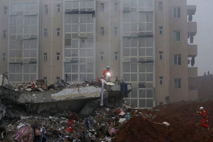 Δεκάδες αγνοούμενοι από κατολίσθηση στην Κίνα - εικόνα 5