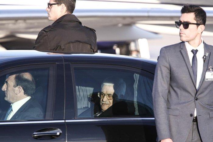 Στην Αθήνα ο Πρόεδρος της Παλαιστίνης