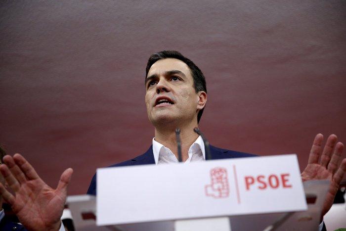 Πέδρο Σάντσες PSOE