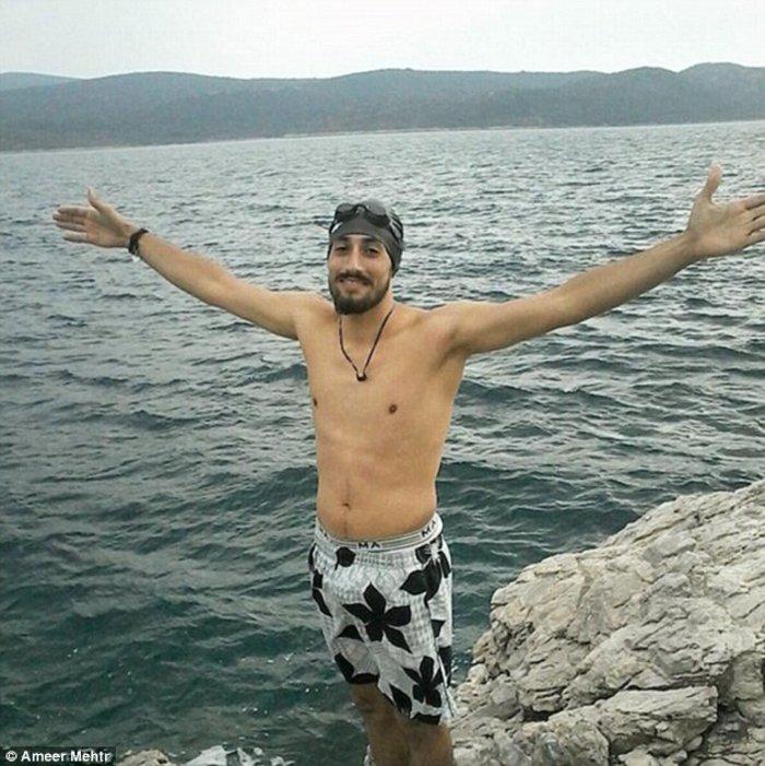 Σύρος πρόσφυγας κολυμπούσε εφτά ώρες από την Τουρκία ως τη Σάμο
