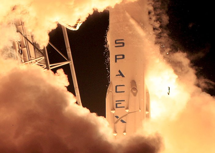 Πρώτη πτήση στο διάστημα πυραύλου ιδιωτικής εταιρείας
