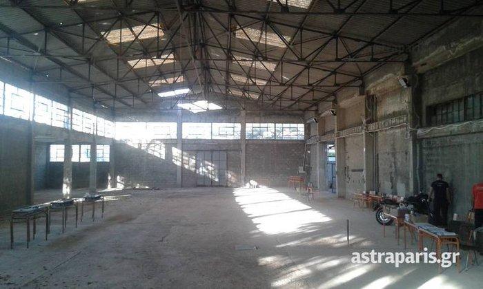 Xίος: Αμίαντος σε κέντρο προσφύγων, σταμάτησε η Fronteχ