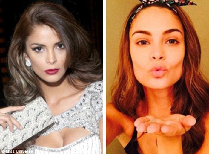 Η 24χρονη Μις Περού Laura Spoya μοιάζει εκπληκτικά στην άβαφη εκδοχή της εκπληκτικά με τον άγγελο της Victoria Secret, Alessandra Ambrosio.