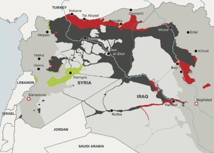 Το 14% των εδαφών του έχασε το ISIS μέσα σε ένα χρόνο