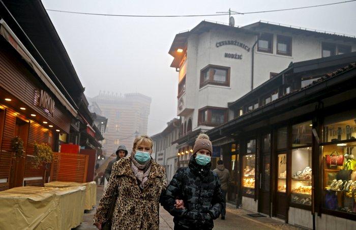 Συναγερμός στο Σαράγεβο που πνίγεται στον καπνό - εικόνα 6