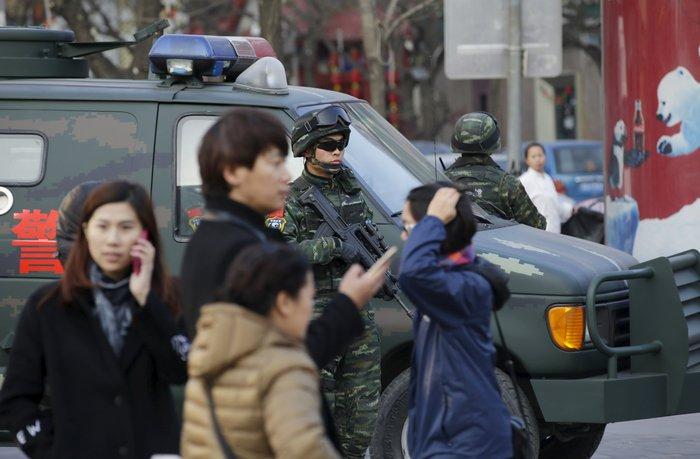 Φόβοι για τρομοκρατικές επιθέσεις στο Πεκίνο τα Χριστούγεννα