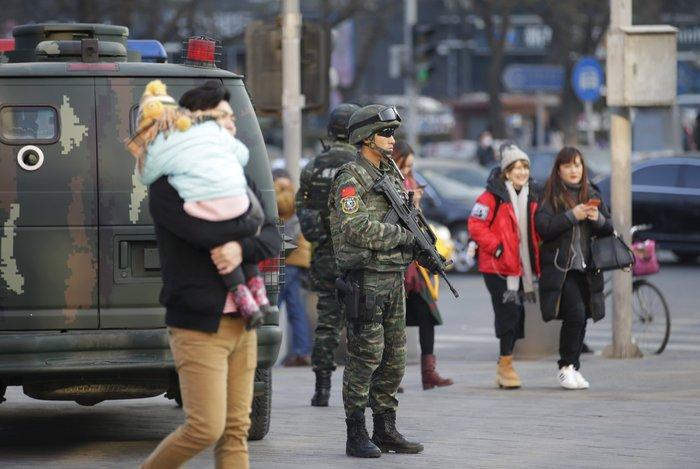 Φόβοι για τρομοκρατικές επιθέσεις στο Πεκίνο τα Χριστούγεννα - εικόνα 3