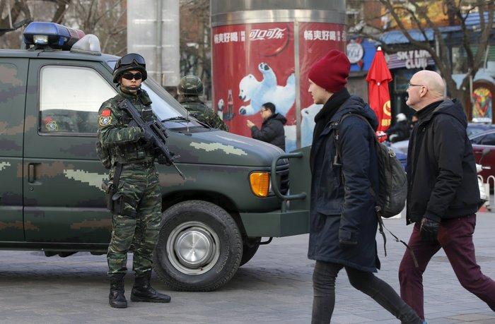 Φόβοι για τρομοκρατικές επιθέσεις στο Πεκίνο τα Χριστούγεννα - εικόνα 4