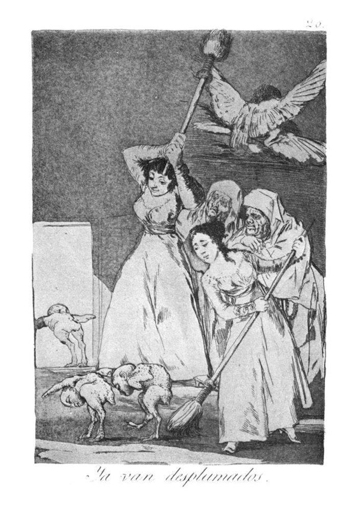 Όταν ο Γκόγια σχολίαζε την οπισθοδρομική εκκλησία και κοινωνία - εικόνα 3