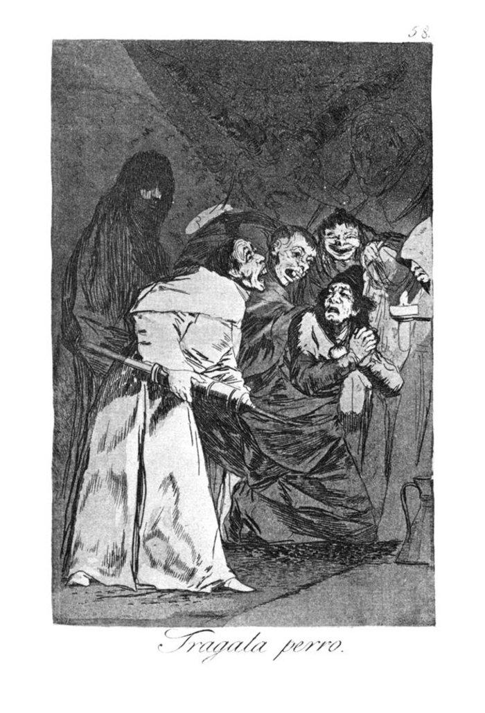 Όταν ο Γκόγια σχολίαζε την οπισθοδρομική εκκλησία και κοινωνία - εικόνα 5