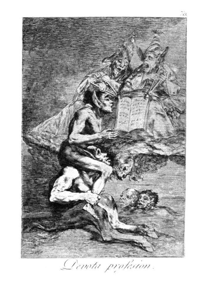 Όταν ο Γκόγια σχολίαζε την οπισθοδρομική εκκλησία και κοινωνία - εικόνα 6
