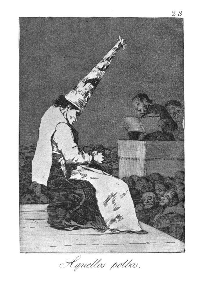 Όταν ο Γκόγια σχολίαζε την οπισθοδρομική εκκλησία και κοινωνία - εικόνα 9