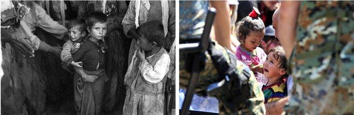 Τα παιδιά πρόσφυγες. Από τον Β' Παγκόσμιο Πόλεμο τίποτα δεν έχει αλλάξει