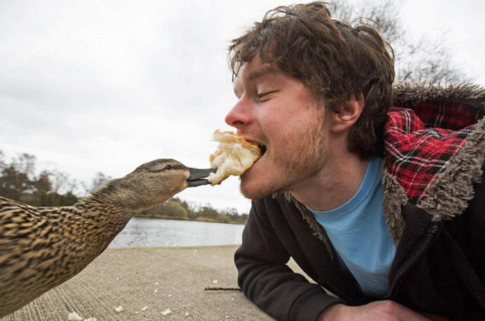 Αυτός είναι ο βασιλιάς των selfie: Φωτογραφίζεται με ζώα - εικόνα 6
