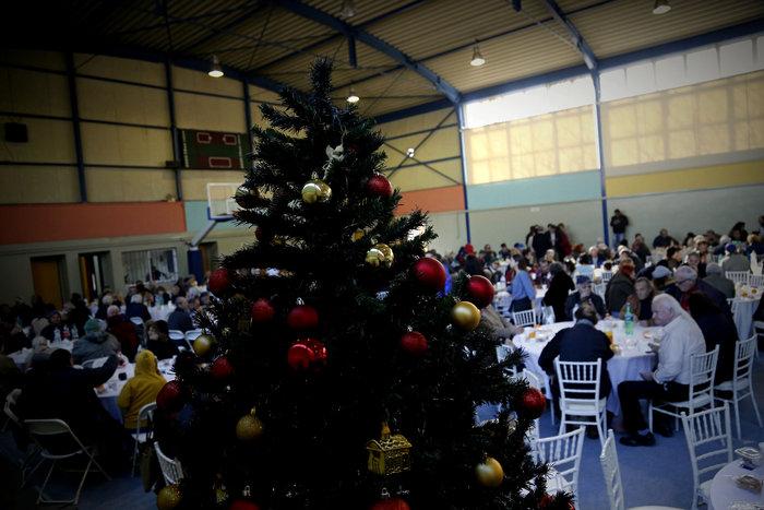 Το Χριστουγεννιάτικο «γεύμα αγάπης» του Δήμου Αθηναίων