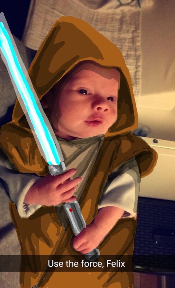 Ένας μπαμπάς δημιουργεί εκπληκτικές εικόνες του γιού του μέσα από ήρωες - εικόνα 6