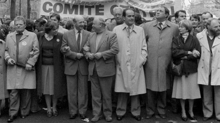 Ο Ζορζ Μαρσέ και η ηγεσία της αριστεράς, Μάης 1968