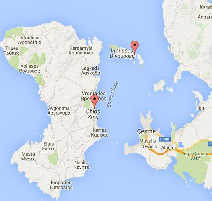 Φωτιά στη νησίδα Παναγία της Χίου - Τραυματίστηκε πυροσβέστης