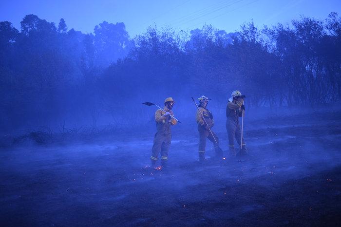 Πυρκαγιές σε δάση της Ισπανίας στην καρδιά του χειμώνα - εικόνα 5