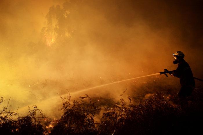 Πυρκαγιές σε δάση της Ισπανίας στην καρδιά του χειμώνα - εικόνα 8