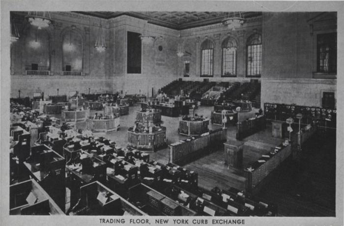 To Χρηματιστήριο των ΗΠΑ. Έτος 1915