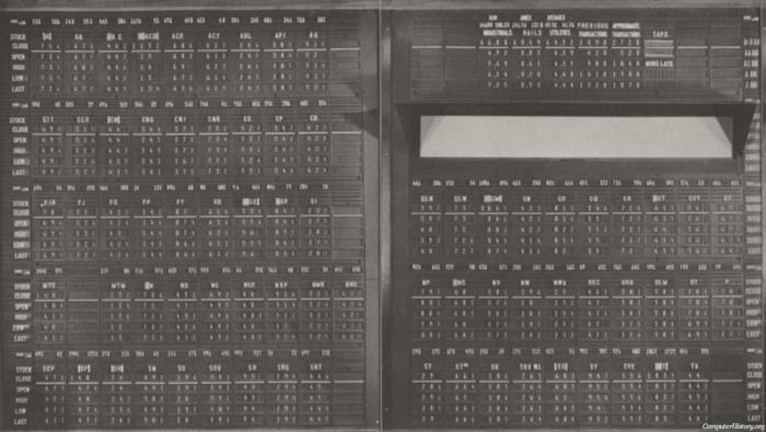 1955. Οι πίνακες πριν γίνουν ψηφιοποιημένοι