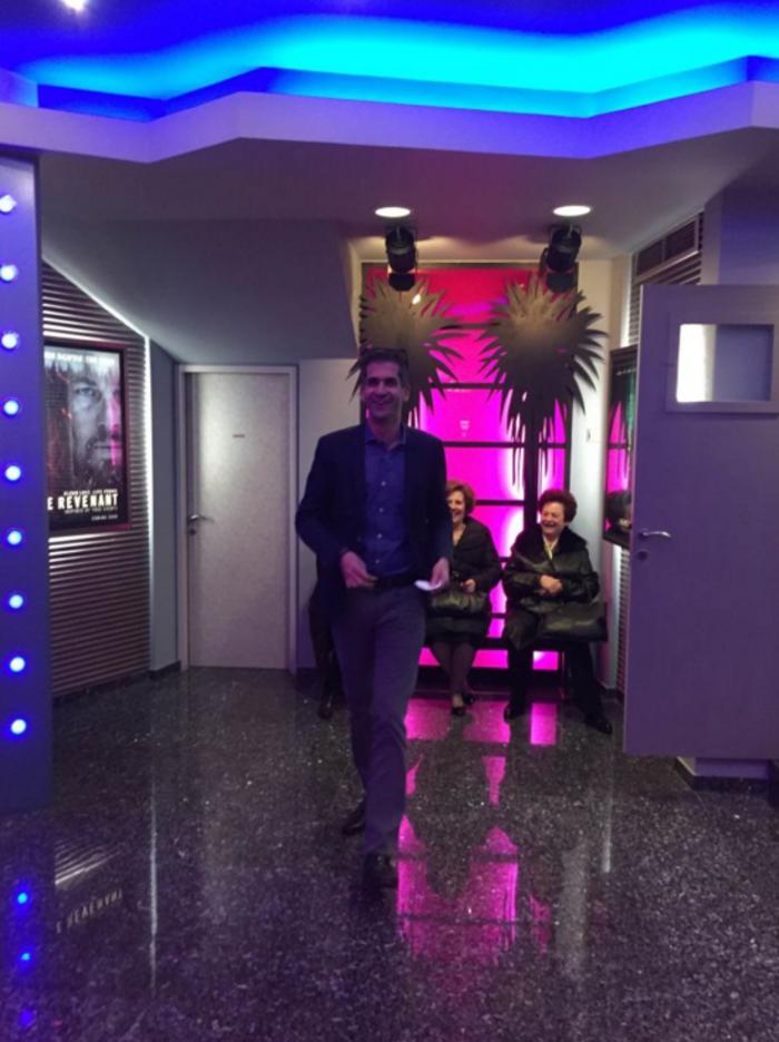 Ο Κώστας Μπακογιάννης πήγε να δει το Star Wars