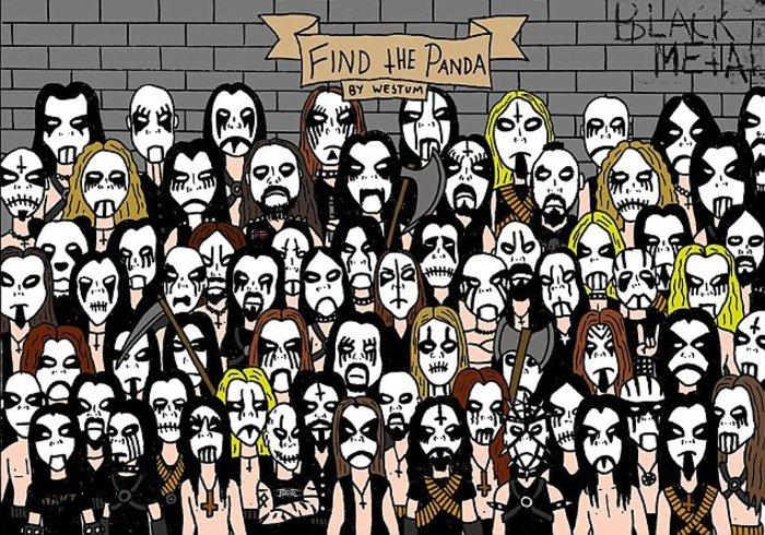 Νέο κουίζ: Βρείτε το panda α λα.... heavy metal