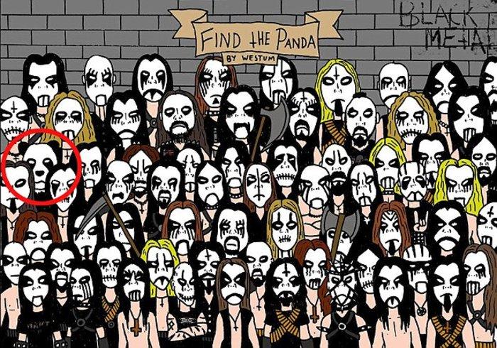 Νέο κουίζ: Βρείτε το panda α λα.... heavy metal - εικόνα 2