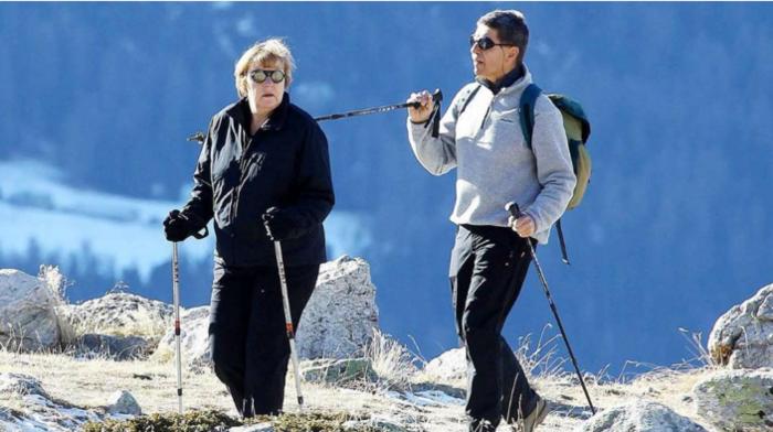 Στις Άλπεις για ορειβασία η καγκελάριος Μέρκελ
