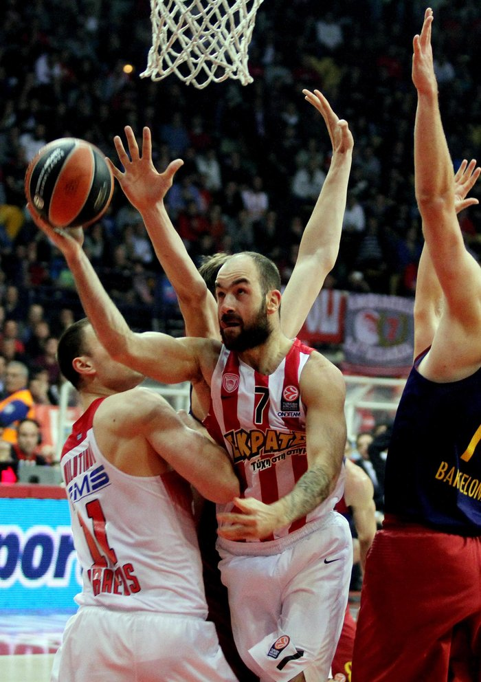 Ο Ολυμπιακός νίκησε 74-62 την Μπαρτσελόνα - εικόνα 7