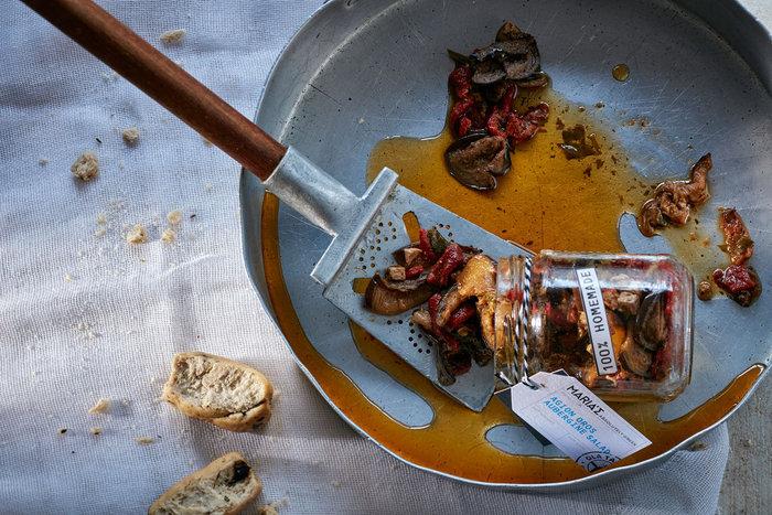 Η αγιορείτικη μελιτζανοσαλάτα που θα βρείτε μέσα στο Ouzo & Mezes.