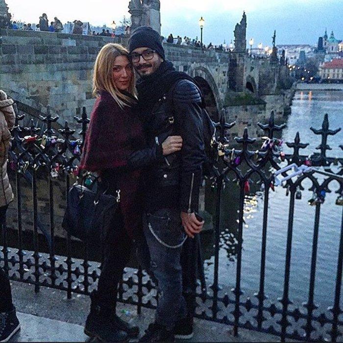 Ηλιάδη & Γκέντζογλου ζουν τον έρωτά τους στην Πράγα!