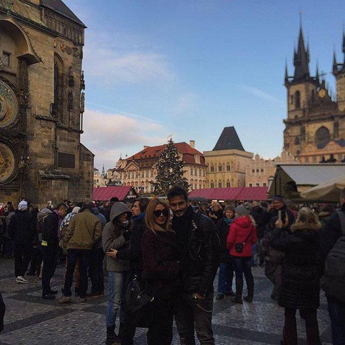 Ηλιάδη & Γκέντζογλου ζουν τον έρωτά τους στην Πράγα! - εικόνα 3