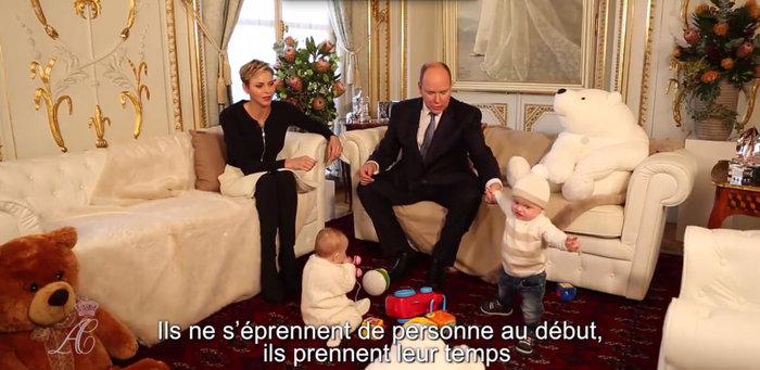 Τα πριγκιπικά Χριστούγεννα στο παλάτι του Μονακό:Αλβέρτος, Σαρλέν & διδυμα - εικόνα 4