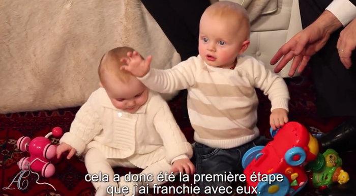 Τα πριγκιπικά Χριστούγεννα στο παλάτι του Μονακό:Αλβέρτος, Σαρλέν & διδυμα - εικόνα 5