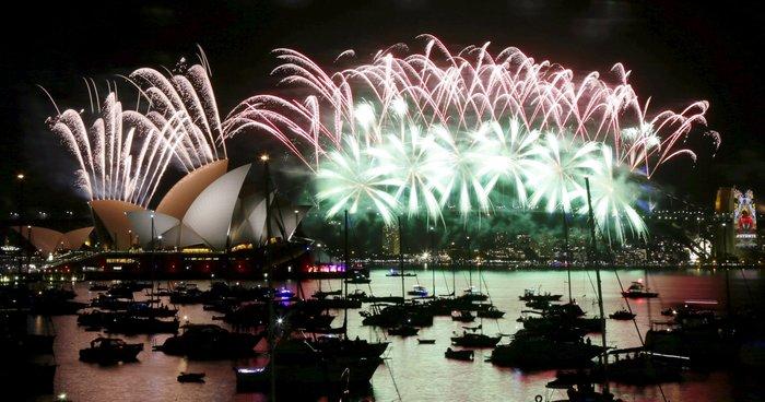 Εντυπωσιακά πυροτεχνήματα για το νέο έτος σε Νέα Ζηλανδία και Αυστραλία - εικόνα 6