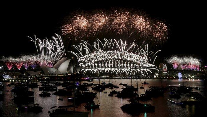 Εντυπωσιακά πυροτεχνήματα για το νέο έτος σε Νέα Ζηλανδία και Αυστραλία - εικόνα 7