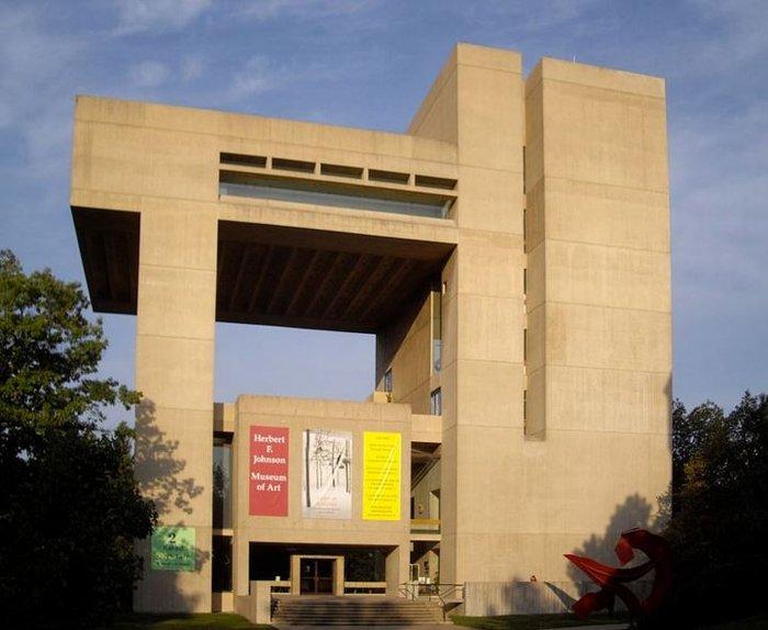 Το Μουσείο τέχνης Herbert F. Johnson