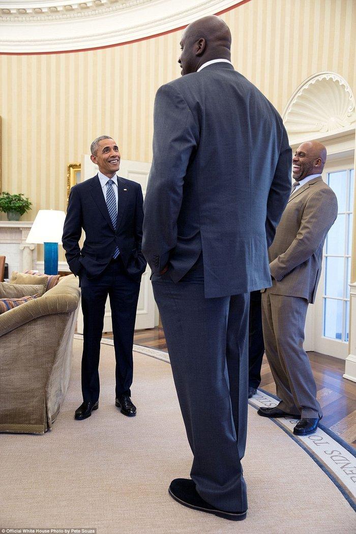 Τα πορτρέτα ενός Προέδρου: Οι καλύτερες στιγμές του Ομπάμα το 2015 - εικόνα 14
