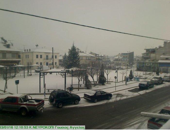 Επέλαση του χιονιά στη Β.Ελλάδα, στην κατάψυξη η χώρα