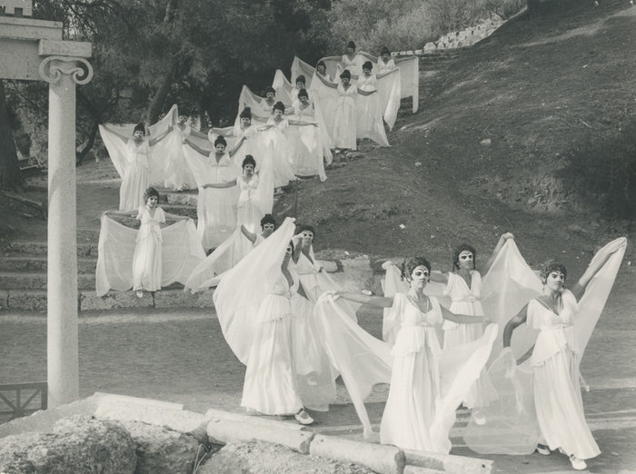 Νεφέλες, 1970, Επίδαυρος, Εθνικό Θέατρο