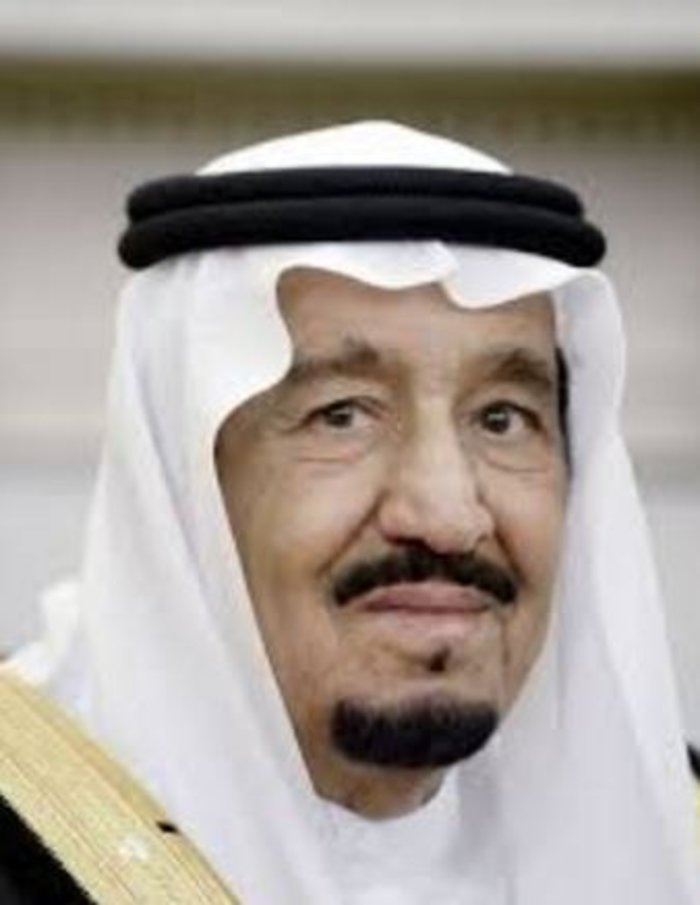 Ο σουνίτης βασιλιάς της Σαουδικής Αραβίας Σαλμάν μπιν Αμπντουλαζίζ αλ Σαούντ