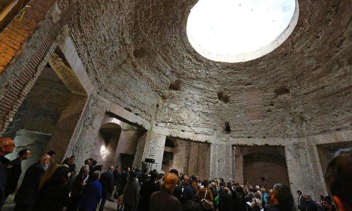 Αναστηλώνουν το Χρυσό Παλάτι του Νέρωνα στη Ρώμη - εικόνα 2