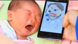 Η εκπληκτική εφαρμογή που αποκωδικοποιεί για ποιο λόγο κλαίει το μωρό σας