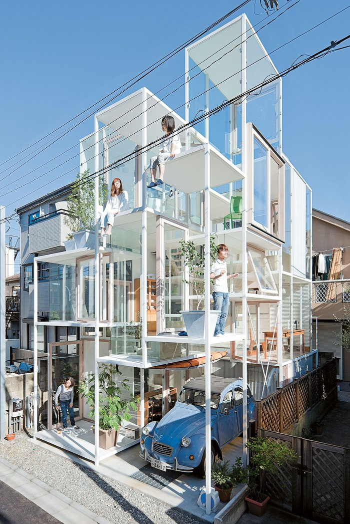 Η ιδιαίτερη αρχιτεκτονική της Ιαπωνίας:Οι 10 πιο εκκεντρικές βίλες - εικόνα 5