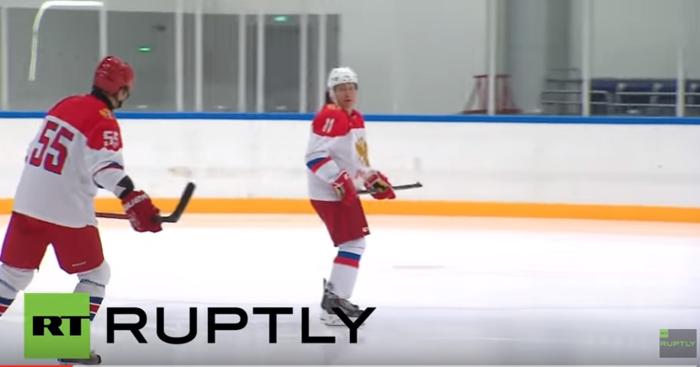 Στο χόκεϊ το έριξε ο ρώσος πρόεδρος Πούτιν- βίντεο - εικόνα 3