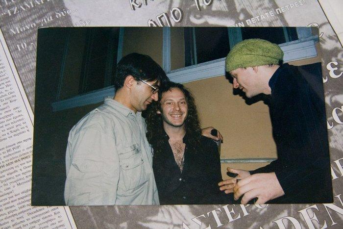 η μπάντα του Iggy Pop & o μπασίστας των Tindersticks στο Decadence